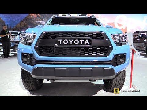 2018 Toyota Tacoma TRD Pro - Exterior and Interior Walkaround - 2017 LA Auto Show