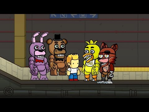 Scribblenauts Unlimited 84 Five Nights at Freddy's Animatronics in Object Editor