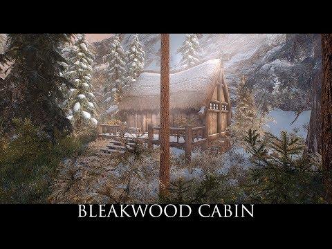 Skyrim SE Mods: Bleakwood Cabin