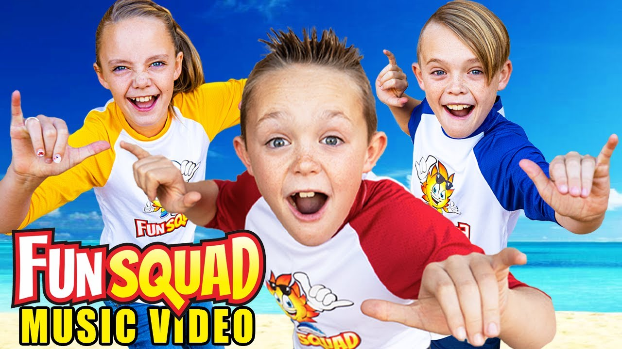 Kids Fun TV - Come Join The Fun Squad (Official Music Video)