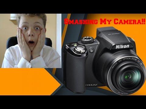 Smashing my Camera!! (Read The Description)