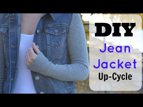 DIY Fall Jackets | Up Cycle Jean Jacket Tutorial