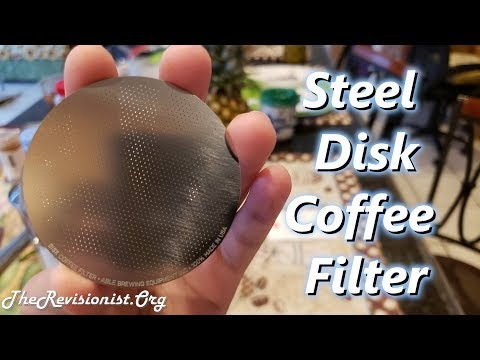 Steel Disk Filter for Aeropress Coffee Maker Review