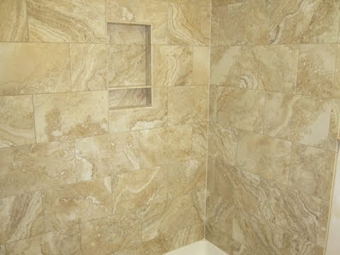 Whole ceramic tile  bathroom in less than ten minutes.