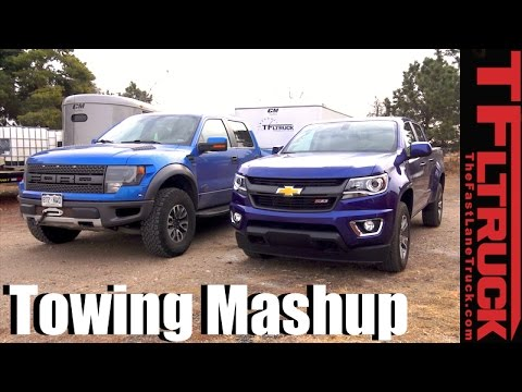 Mid-Size vs Half-Ton Mashup: What Pickup Should I Buy To Best Tow a Big Trailer?
