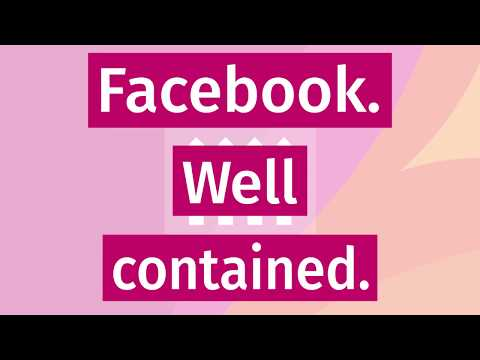 Keep Facebook (and their tracking) Contained