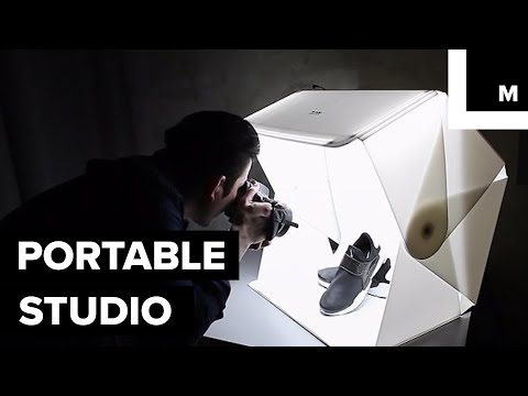 Portable photography studio