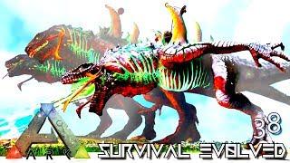 ARK: SURVIVAL EVOLVED - ALPHA INDOMINUS REX MAX Lvl PERFECT TAME
