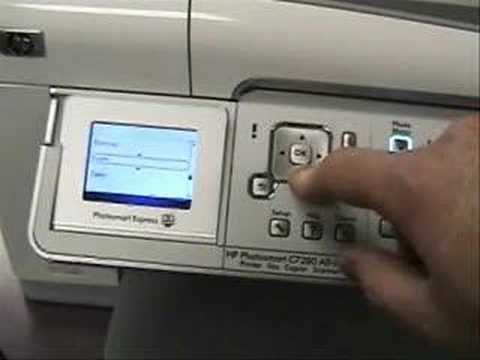 HP C7280 Change Language