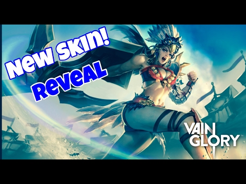 Vainglory - NEW GLADIATOR CATHERINE SPECIAL EDITION SKIN REVEAL!