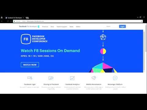 How to get user access token via Facebook Graph API