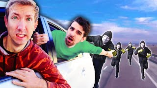 Download HOMELESS AGAIN? PROJECT ZORGO Took Our SAFE HOUSE After Ninja Battle Royale & Escape in Tesla Video