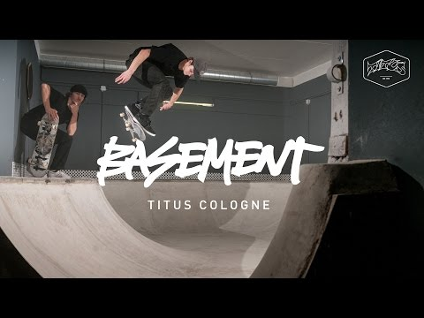 Basement Bowl   Titus Skateshop in Cologne – DIY-Documentary and 1st Session