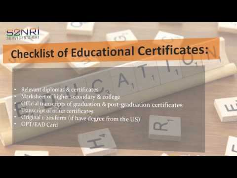 Which Certificates Need Attestation for H1B Visa