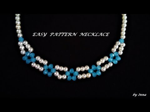 How to make a necklace in less than 10 min. Beginners pattern