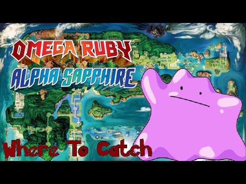 How & Where to Catch Ditto in Pokemon Omega Ruby and Alpha Sapphire
