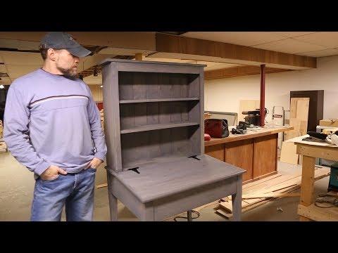 Build a Bookcase/Desk Combo