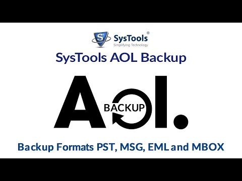 SysTools AOL Backup for Emails [How to] Guide
