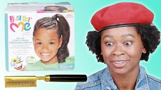Black Women React To 90s Hair Products