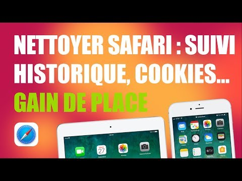 Nettoyer Safari : cookies, liste de lecture, historique, etc. - iPhone iPad saturé