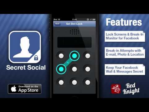 My Secret Facebook - Hide Your Facebook Activity Inc. Break-In Reports!