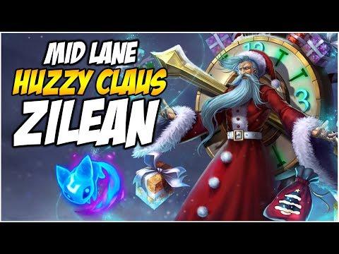 IT'S MID LANE ZILEAN TIME - Huzzy Claus | League of Legends