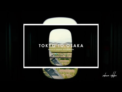 THE TOKYO DIARIES | How to get from Tokyo to Osaka by JR Train!