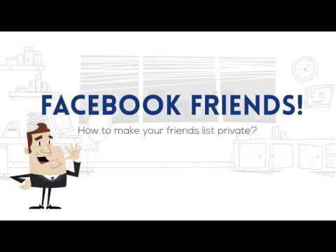 Facebook friends private