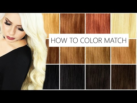 How to Color Match Your Natural Hair to Bombay Hair Extensions