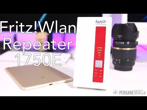 Migliorare la COPERTURA Wi-Fi con Fritz!Wlan Repeater 1750E - RECENSIONE