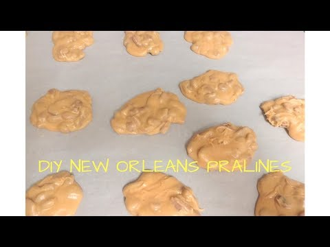 Quick, Easy, & Delicious New Orleans Pralines/Pecan Candy