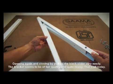 DIY - Fold Away Table Bracket from Ebco