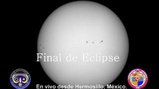 Eclipse parcial de Sol 2017