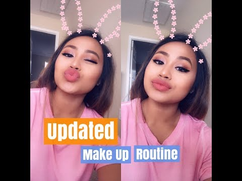 Updated Make Up Routine