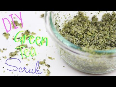 DIY ♡ Green Tea Sugar Scrub W/ Coconut Oil