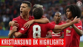 Manchester United | Kristiansund BK Highlights | Mata Scores An Injury Time Winner!