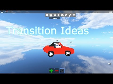 Roblox: Transition Ideas - Work at a Pizza Place -