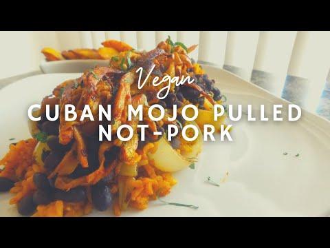 Cuban Mojo Pulled Pork* | How to make vegan pulled pork| Korenn Rachelle