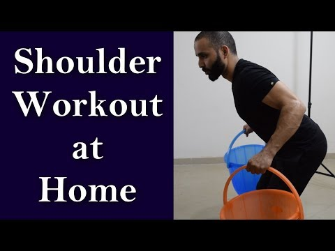How to get big shoulders at home? Build shoulders fast | Best home workout