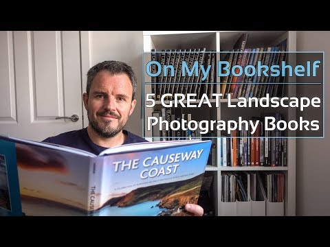 On My Bookshelf - 5 Great Landscape Photography Books