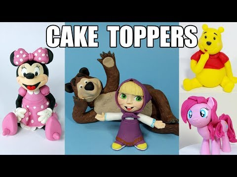 Kids CAKE TOPPERS compilation - Part 2