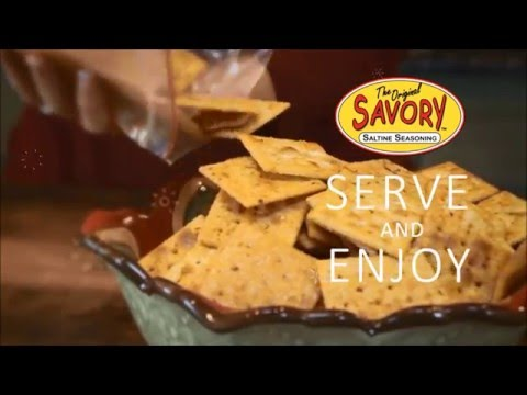 How To Make Savory Party Crackers - Hyper Lapse