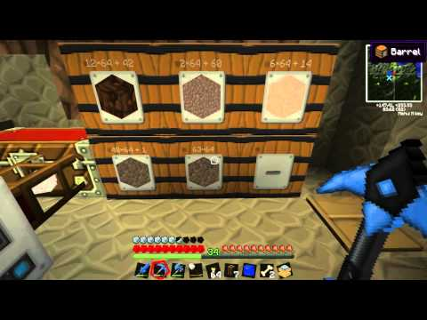 WhaleMasher MindCrack FTB - Ep 012: Extracting from a Barrel.