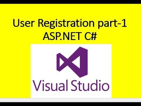 ASP NET Register user, Mail Confirmation, Login Sucess part 1
