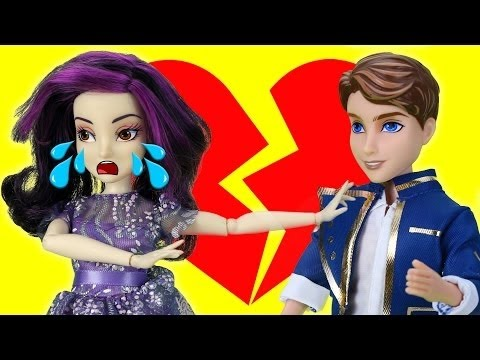 Descendants Mal and Ben Break Up or Stay Together? With Descendants Evie and Audrey