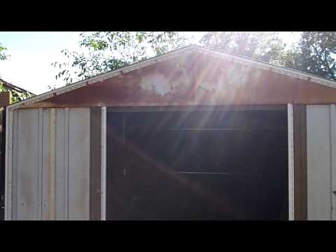 Chicken Coop Project Part 8: How To Install Vinyl Siding On A Metal Shed