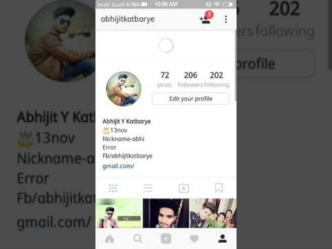 How to create page on Instagram