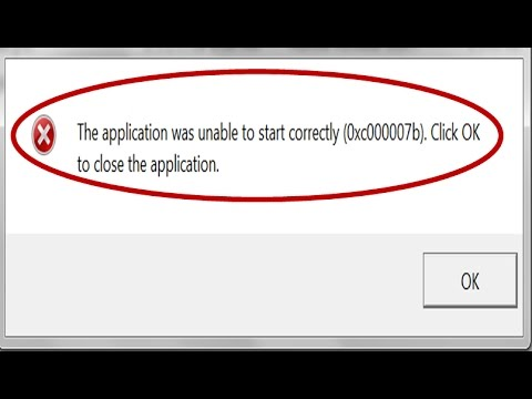 How to Fix Error 0xc00007b in Windows 10/8.1/8/7 | 5 Solutions | 100% FIX