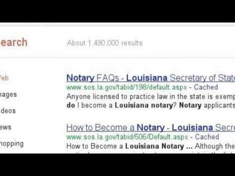 Bryan O'Rourke Louisiana Notary Public