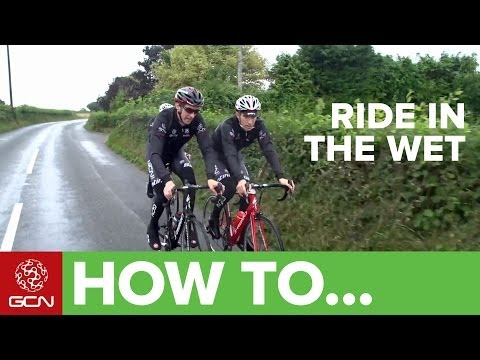 How To Ride In Rain And Wet Weather